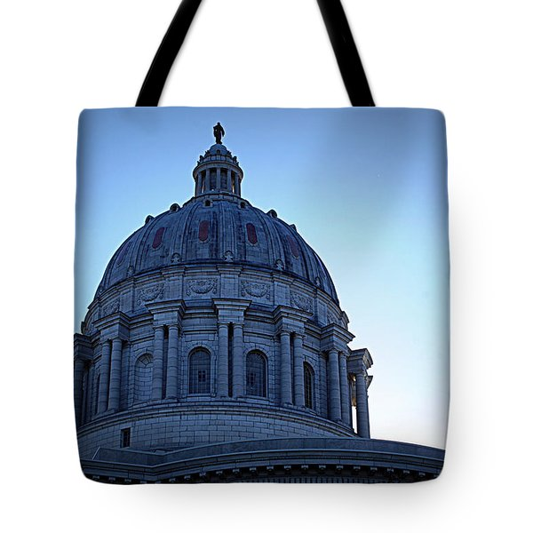 Show-me State Capitol Tote Bag by Cricket Hackmann
