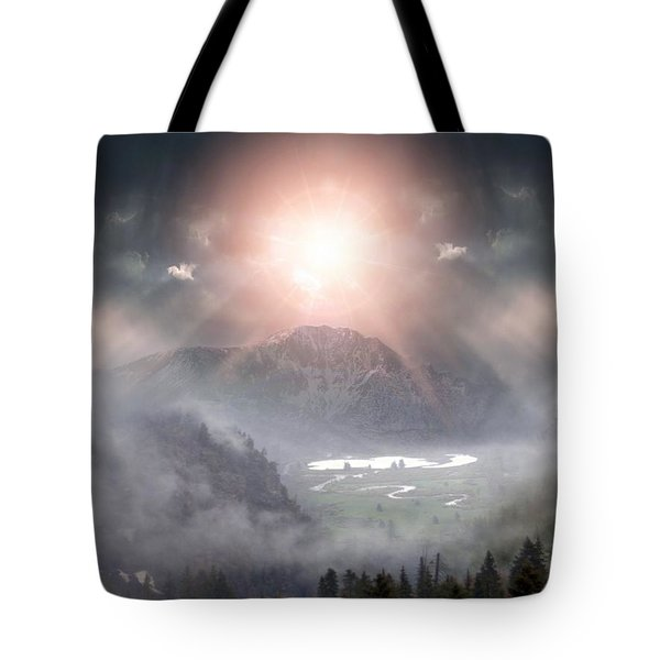 Silent Night Tote Bag by Bill Stephens