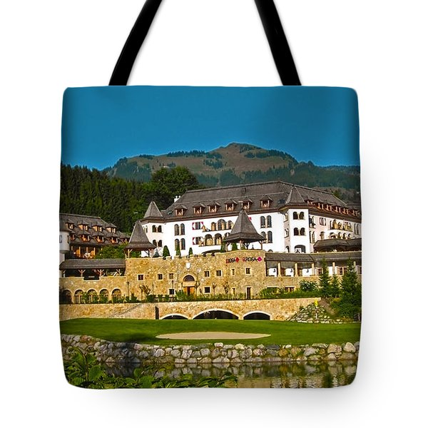 Spa Resort A-rosa - Kitzbuehel Tote Bag by Juergen Weiss