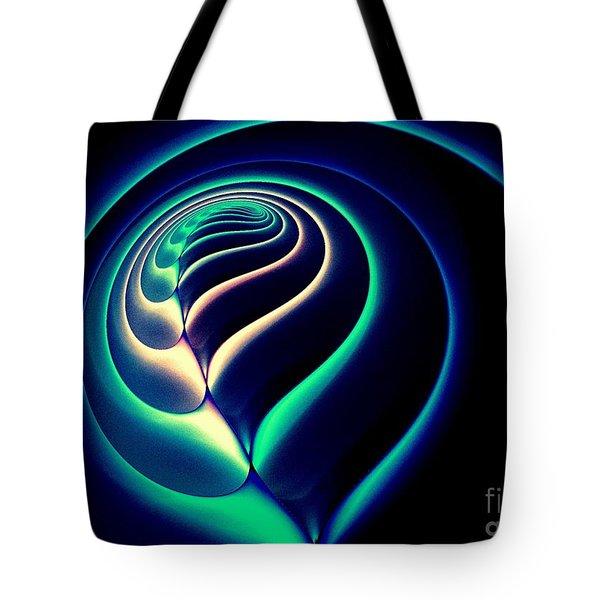 Spiral-2 Tote Bag by Klara Acel