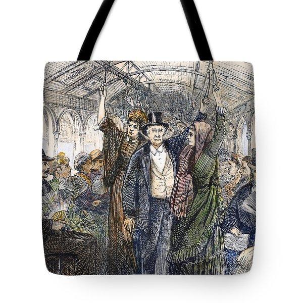 Streetcar, 1876 Tote Bag by Granger