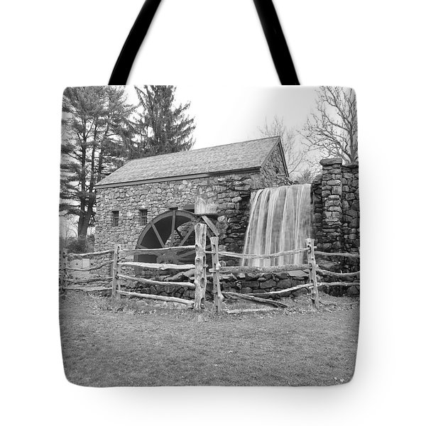 Sudbury Grist Mill  Tote Bag by Catherine Reusch  Daley