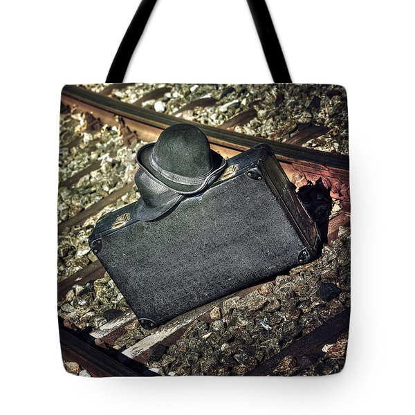 Suitcase And Hats Tote Bag by Joana Kruse