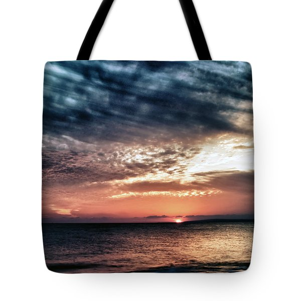 Sunset Tote Bag by Stelios Kleanthous