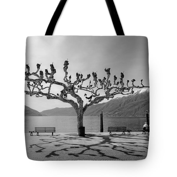 sycamore trees in Ascona - Ticino Tote Bag by Joana Kruse