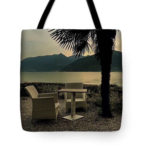Table And Chairs Tote Bag by Joana Kruse
