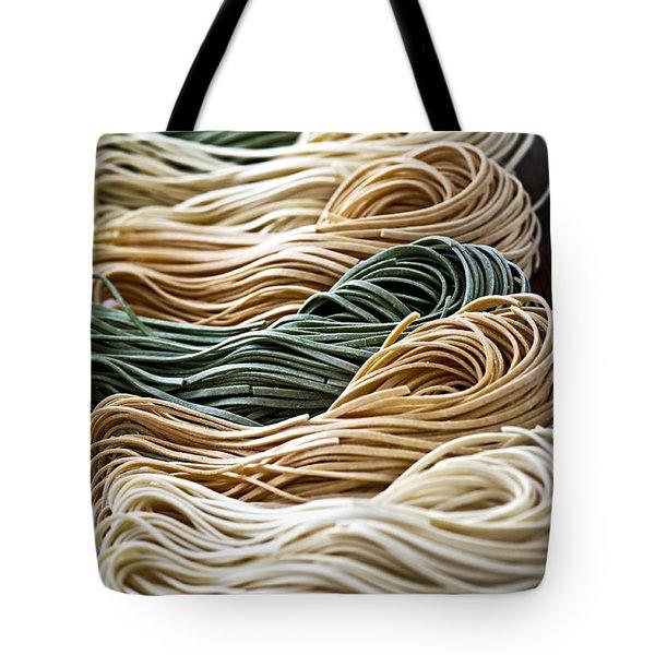 Tagliolini pasta Tote Bag by Elena Elisseeva