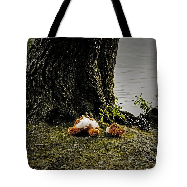 Teddy Without Head Tote Bag by Joana Kruse