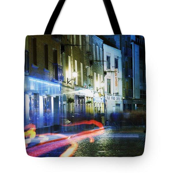 Temple Bar, Dublin, Co Dublin, Ireland Tote Bag by The Irish Image Collection