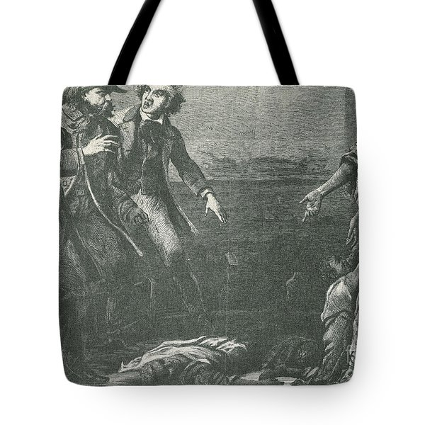 The Capture Of Margaret Garner Tote Bag by Photo Researchers