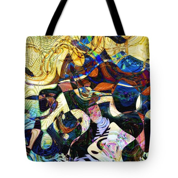 The Flight Of The Seahorse Tote Bag by RC DeWinter