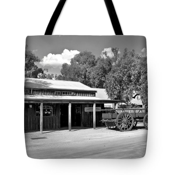 The Heritage town of Echuca Victoria Australia Tote Bag by Kaye Menner