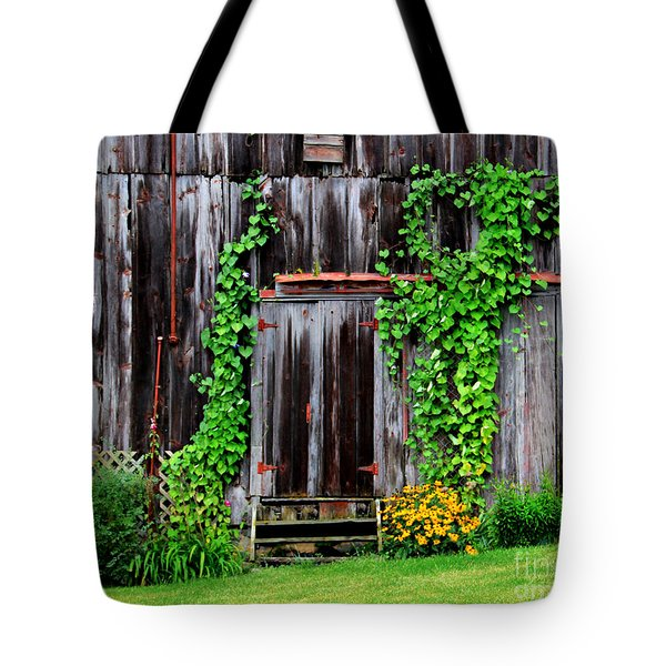 The Old Shed Tote Bag by Perry Webster