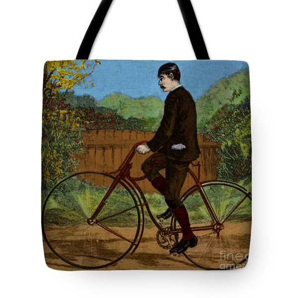 The Rover Bicycle Tote Bag by Science Source