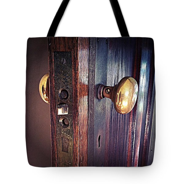 The Way In Tote Bag by Michelle Calkins