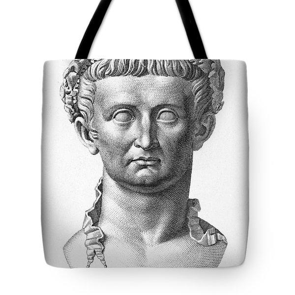 Tiberius (42 B.c.- 37 A.d.) Tote Bag by Granger