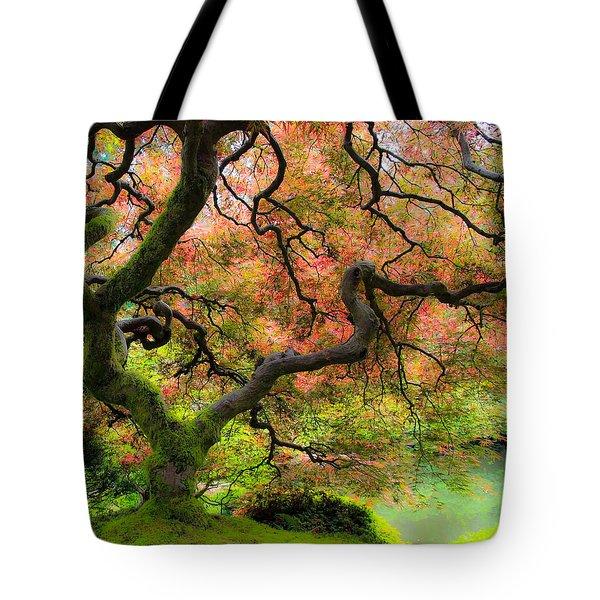 Tree of Beauty Tote Bag by Steve McKinzie