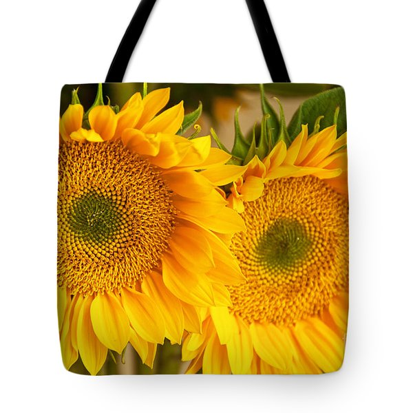 Twins Tote Bag by Bob and Nancy Kendrick