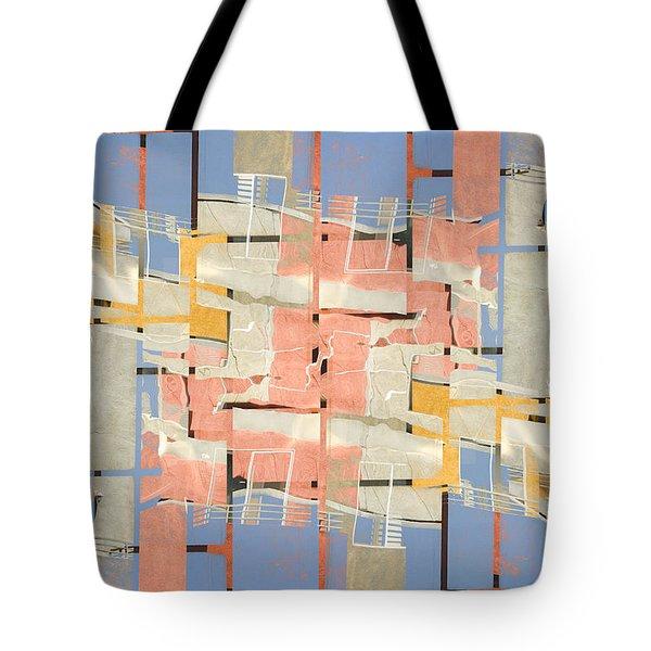 Urban Abstract San Diego Tote Bag by Carol Leigh