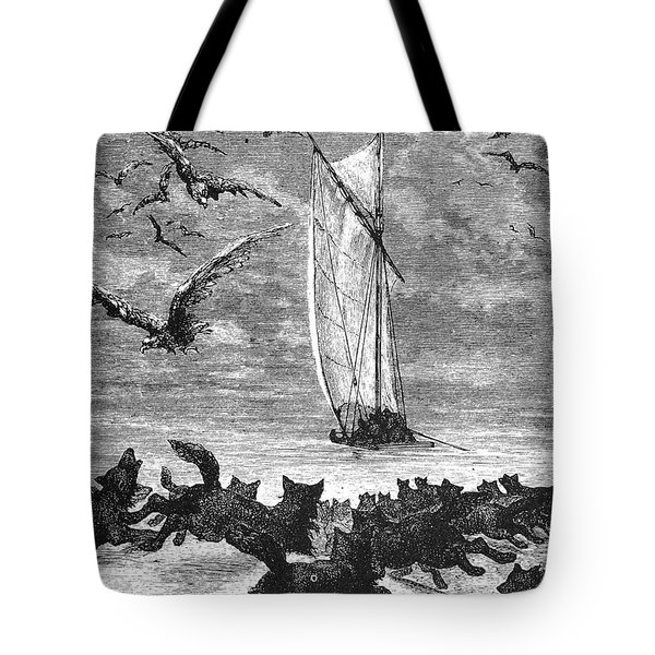 Verne: Around The World Tote Bag by Granger
