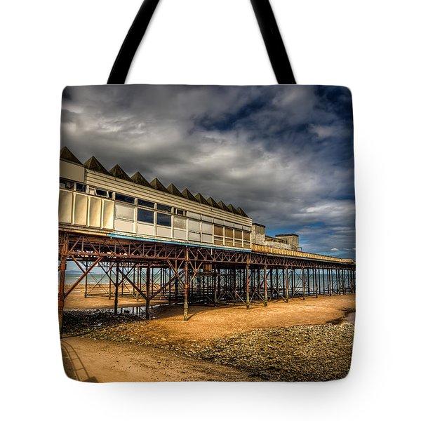Victoria Pier Tote Bag by Adrian Evans