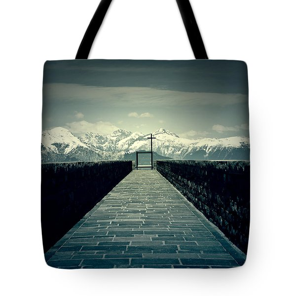 Way To Heaven Tote Bag by Joana Kruse
