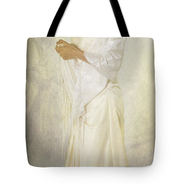Wedding Dress Tote Bag by Joana Kruse