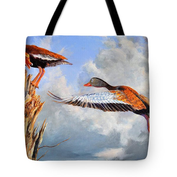 What Are You Whistling At Tote Bag by AnnaJo Vahle