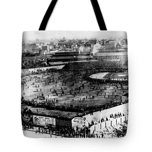 World Series, 1903 Tote Bag by Granger