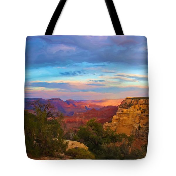 You Draw Me In Tote Bag by Heidi Smith