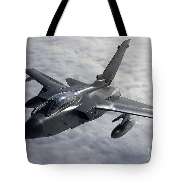 A Luftwaffe Tornado Ids Over Northern Tote Bag by Gert Kromhout