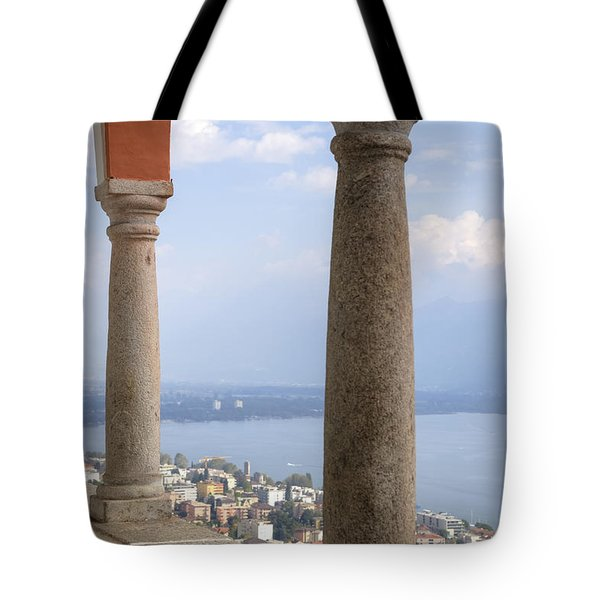 Madonna Del Sasso - Locarno Tote Bag by Joana Kruse