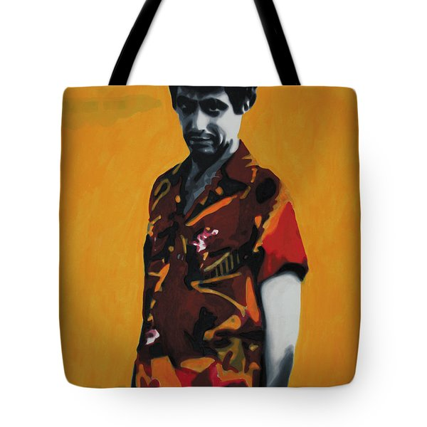 - Scarface - Tote Bag by Luis Ludzska