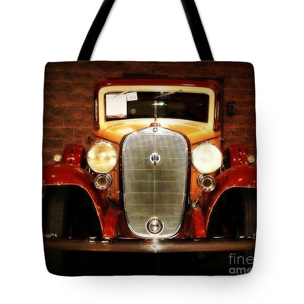 12v Collector Car Tote Bag by Susanne Van Hulst