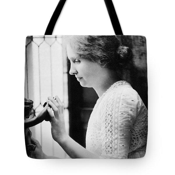 Helen Adams Keller Tote Bag by Granger