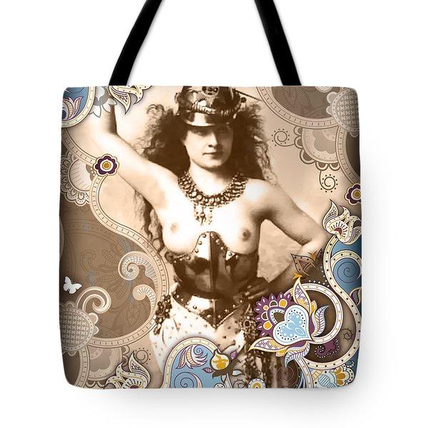 Goddess Tote Bag by Chris Andruskiewicz