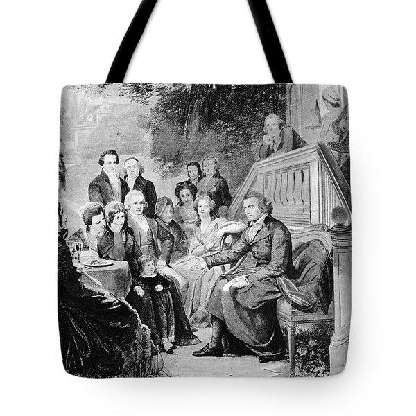 Friedrich Schiller Tote Bag by Granger