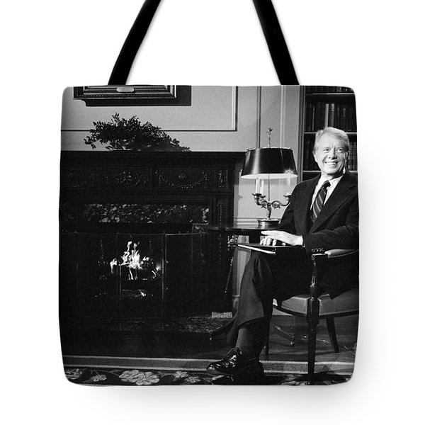 Jimmy Carter (1924- ) Tote Bag by Granger