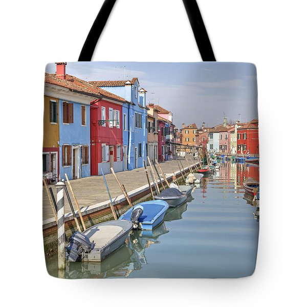 Burano Tote Bag by Joana Kruse