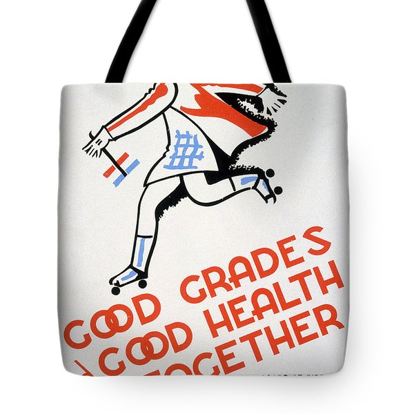 New Deal: Wpa Poster Tote Bag by Granger