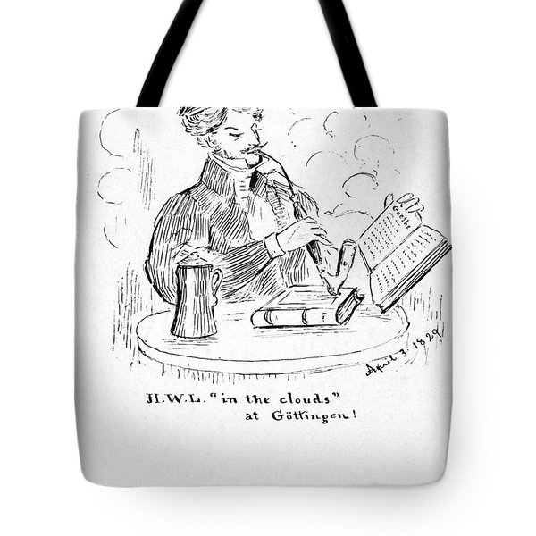 Henry Wadsworth Longfellow Tote Bag by Granger
