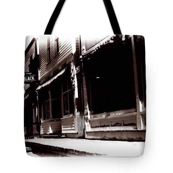 1900 Sidewalk  Tote Bag by Marcin and Dawid Witukiewicz
