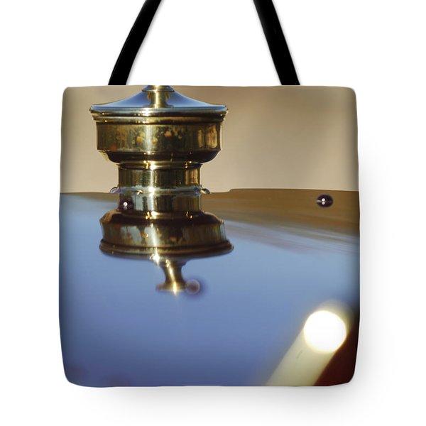 1907 Panhard et Levassor Hood Ornament Tote Bag by Jill Reger