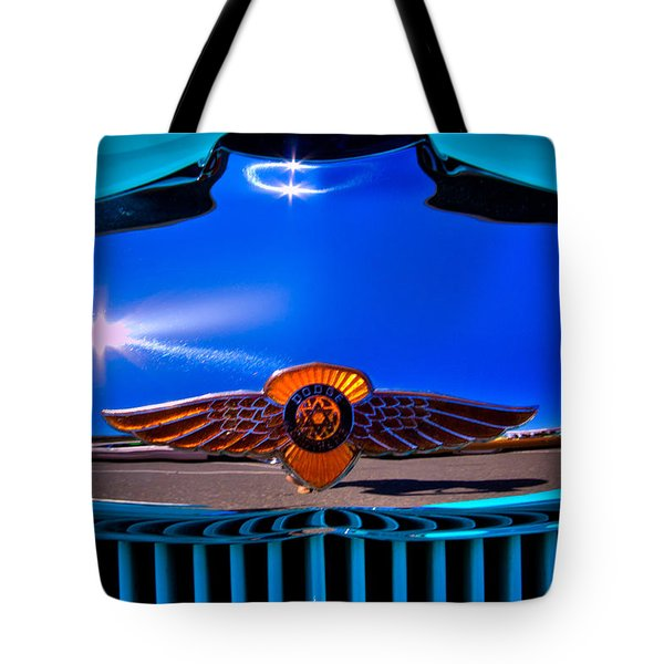 1933 Dodge Coupe Tote Bag by David Patterson