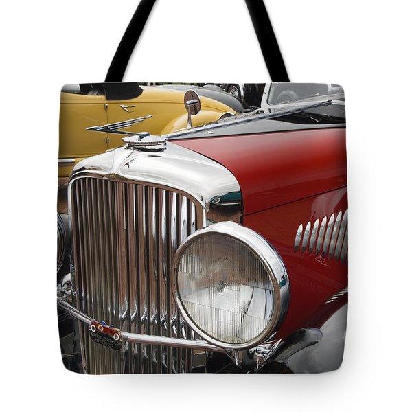 1933 Duesenberg Model J - D008168 Tote Bag by Daniel Dempster