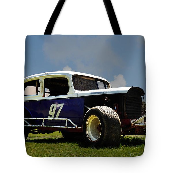 1934 Ford Stock Car Tote Bag by Bill Cannon