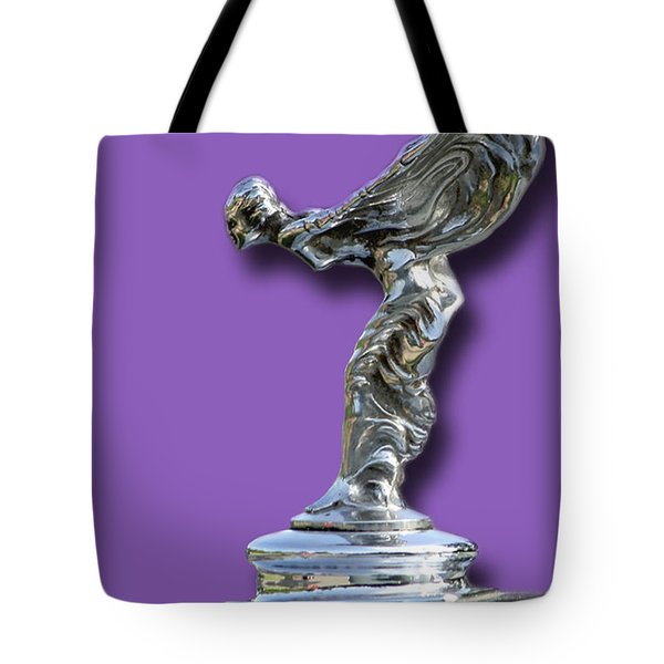 1934 Rolls Royce Spirit Mascot Tote Bag by Jack Pumphrey