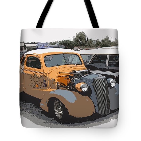 1937 Chevy Coupe Tote Bag by Steve McKinzie