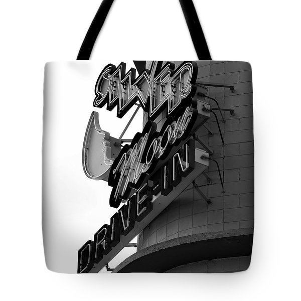 1940s Drive In Tote Bag by David Lee Thompson