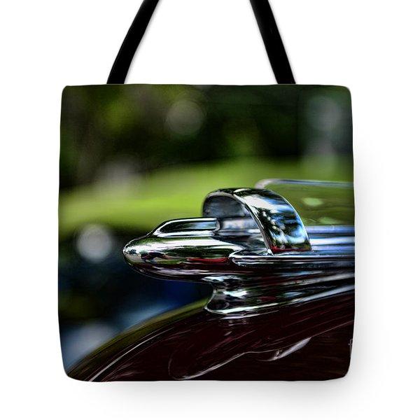 1947 Chevrolet Hood Ornament Tote Bag by Paul Ward